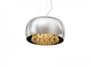 LAMPA SUFITOWA Burn 2 pendant/top chrome AZ0700