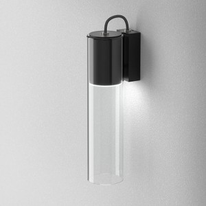 Kinkiet MODERN GLASS Tube TP LED 230V Phase-Control, transparentny klosz