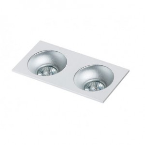 AZZARDO LAMPA WPUSZCZANA HUGO 2 DOWNLIGHT WHITE   GM2203S WH
