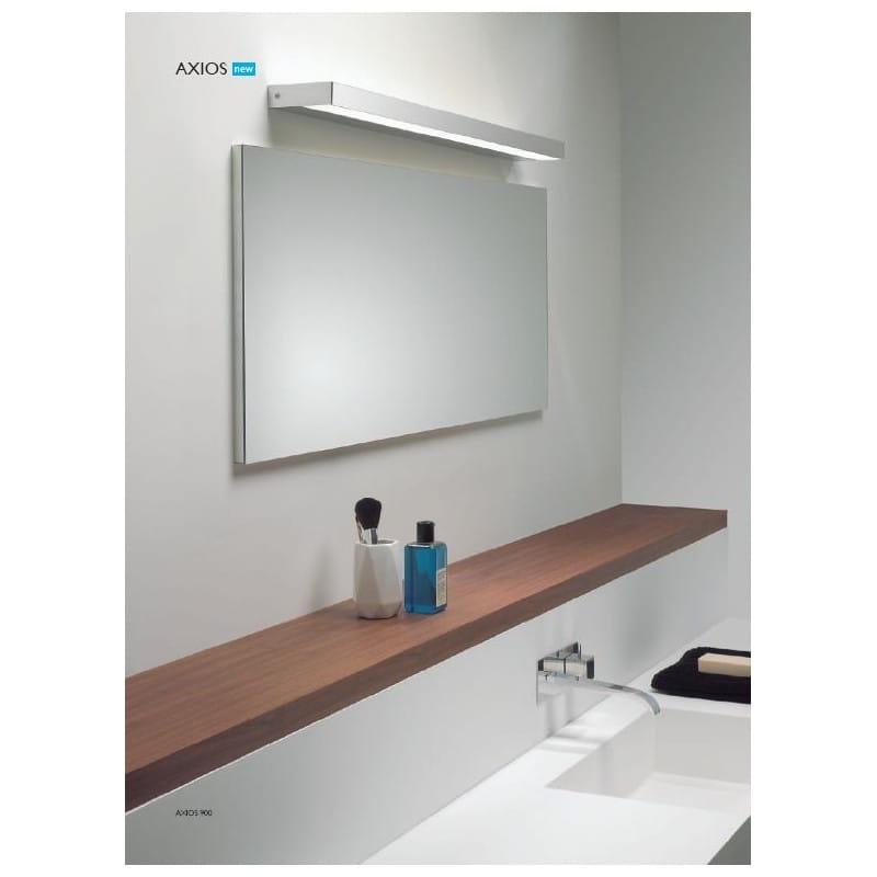 7110 Axios 900 Podłużny Kinkiet łazienkowy Chrom Ledowy Ip44 90cm