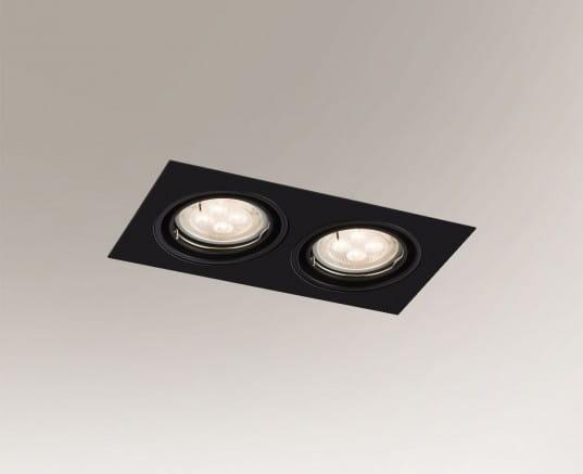 lampy wpuszczane w sufit do łazienki